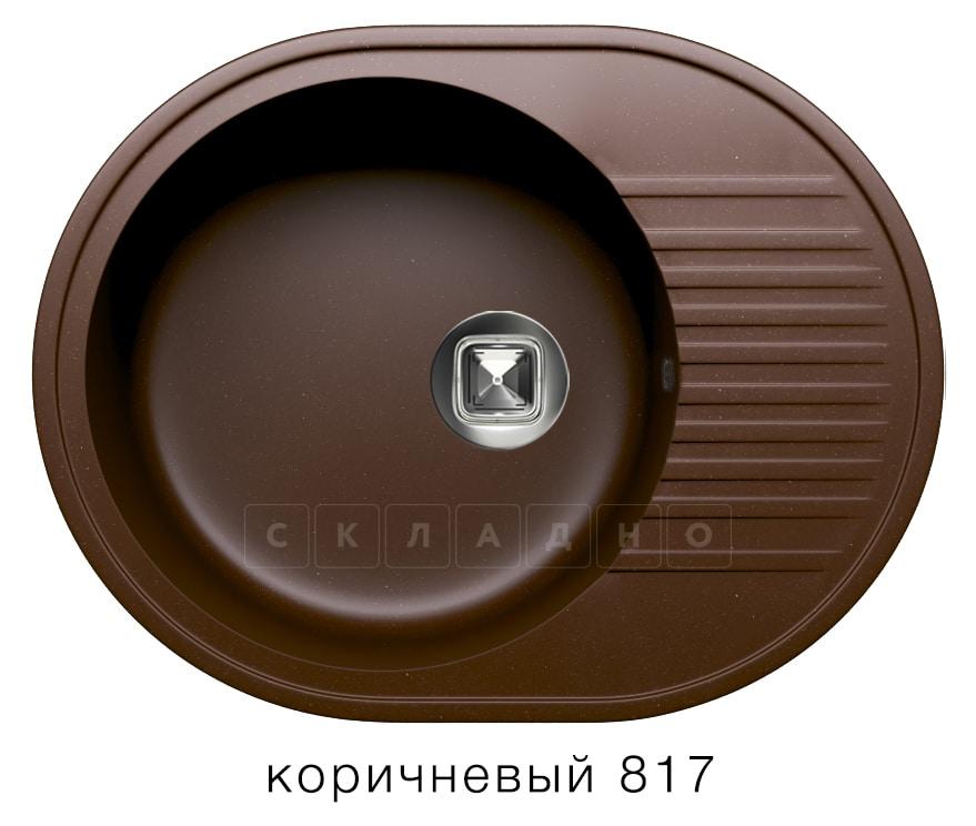 Кухонная мойка TOLERO R-122 кварцевая овальная фото 5   интернет-магазин Складно