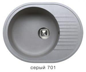 Кухонная мойка TOLERO R-122 кварцевая овальная 7000 рублей, фото 4   интернет-магазин Складно