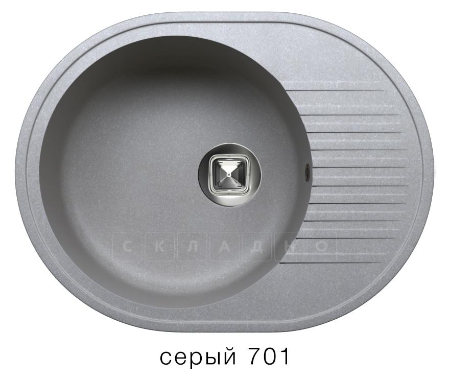 Кухонная мойка TOLERO R-122 кварцевая овальная фото 4   интернет-магазин Складно