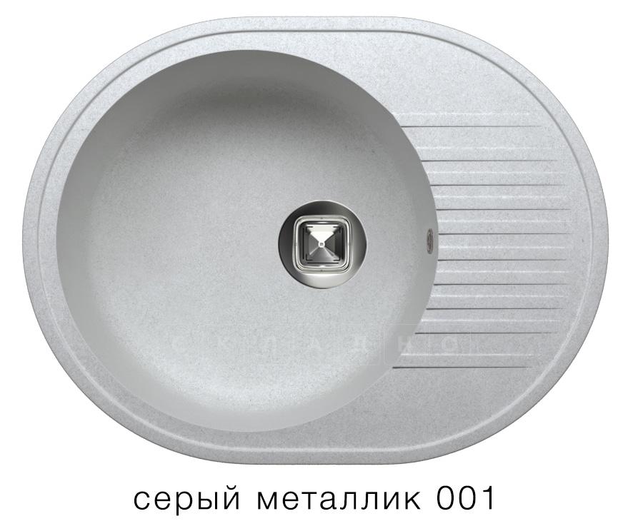 Кухонная мойка TOLERO R-122 кварцевая овальная фото 2   интернет-магазин Складно