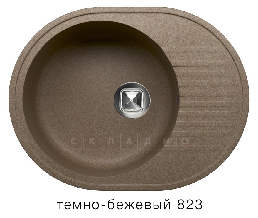 Кухонная мойка TOLERO R-122 кварцевая овальная фото 6   интернет-магазин Складно