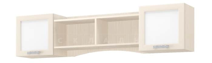 Полка настенная ДЮ-02 с дверцами, рамочный фасад фото 1 | интернет-магазин Складно