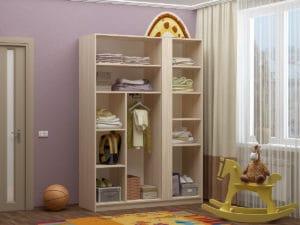 Шкаф в детскую Бемби-6 с фотопечатью 9960 рублей, фото 2 | интернет-магазин Складно