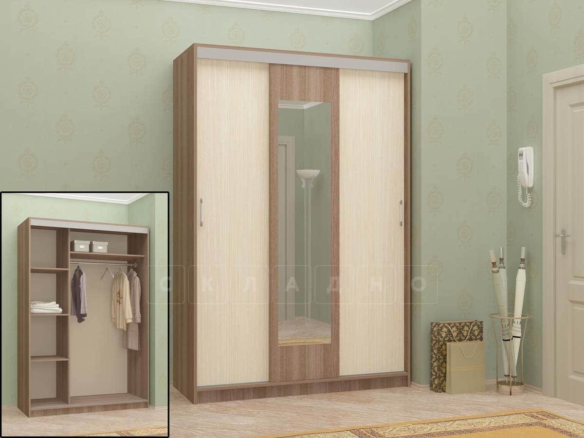 Шкаф-купе Вавилон 2,3м фото 3 | интернет-магазин Складно