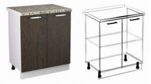 Кухонный шкаф напольный Шарлотта ШН60 фото | интернет-магазин Складно