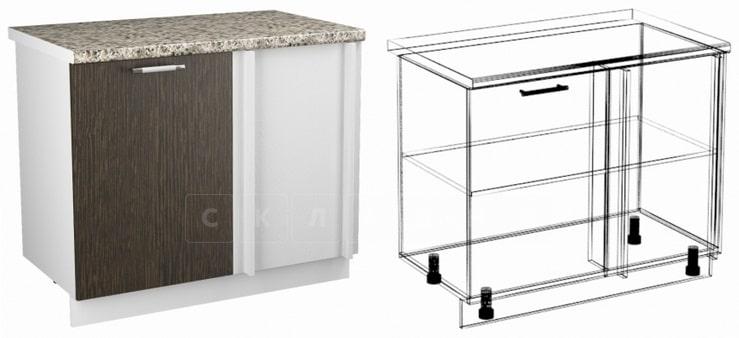 Кухонный шкаф напольный угловой Шарлотта ШНУ100 фото 1 | интернет-магазин Складно
