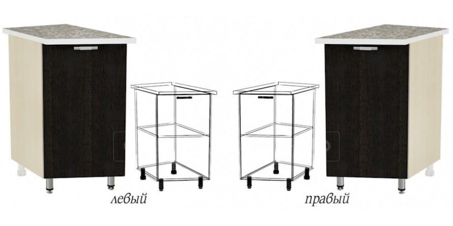 Кухонный шкаф напольный торцевой закрытый Лофт ШНТ30 фото 1 | интернет-магазин Складно