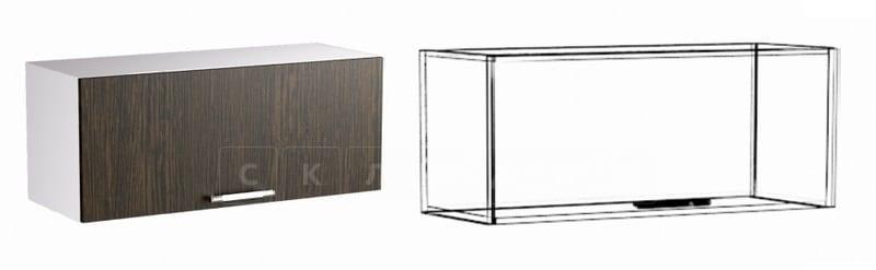 Кухонный навесной шкаф газовка Шарлотта ШВГ80 фото 1 | интернет-магазин Складно