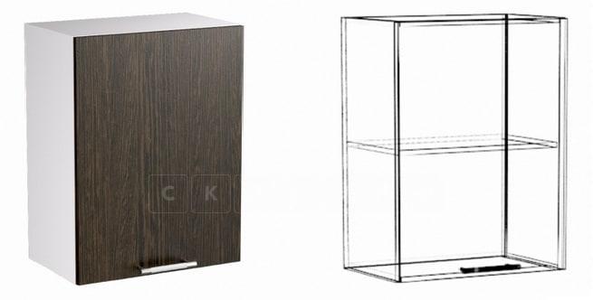 Кухонный навесной шкаф Шарлотта ШВ50 фото 1 | интернет-магазин Складно