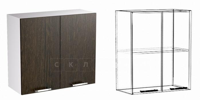 Кухонный навесной шкаф Шарлотта ШВ80 фото 1 | интернет-магазин Складно