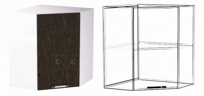 Кухонный навесной шкаф угловой Шарлотта ШВУ60 фото 1 | интернет-магазин Складно