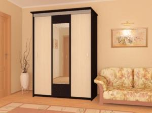Шкаф-купе Версаль 2,0м с зеркалом 11640 рублей, фото 3 | интернет-магазин Складно
