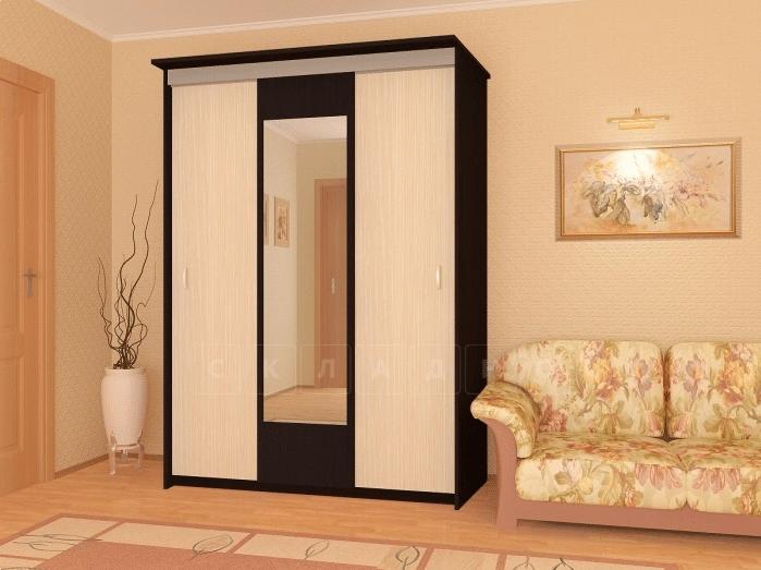 Шкаф-купе Версаль 2,0м с зеркалом фото 3 | интернет-магазин Складно