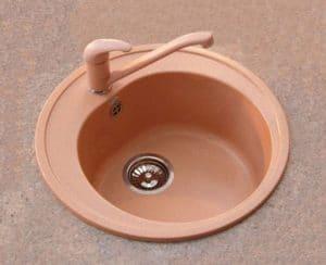 Смеситель кухонный низкий ЭКО в цвет мойки Polygran 3370 рублей, фото 6 | интернет-магазин Складно