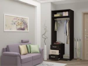 Шкаф малый Нота-11 7250 рублей, фото 4 | интернет-магазин Складно