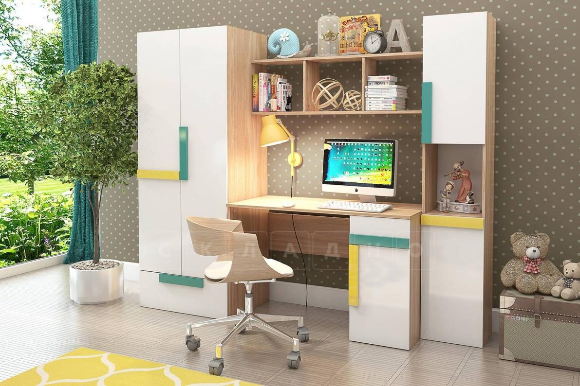 Детская стенка Умка со столом фото 1 | интернет-магазин Складно
