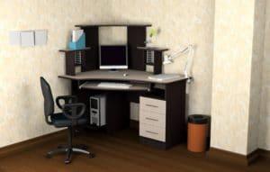 Компьютерный стол СКУ-1 фото | интернет-магазин Складно
