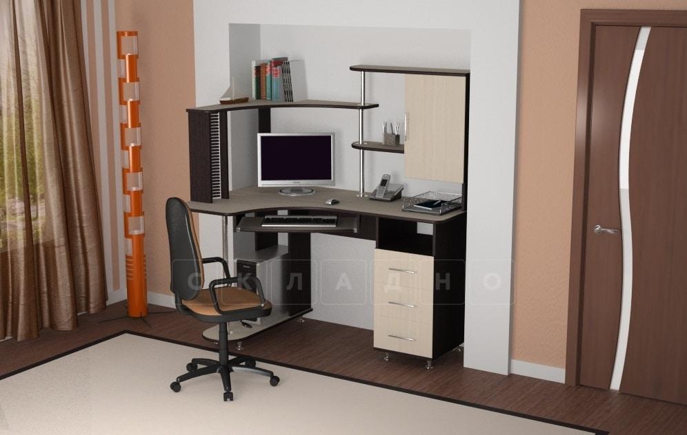 Компьютерный стол СКУ-7 фото 1 | интернет-магазин Складно