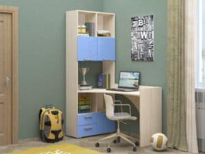Шкаф со столом Бемби-4 фото 2 | интернет-магазин Складно