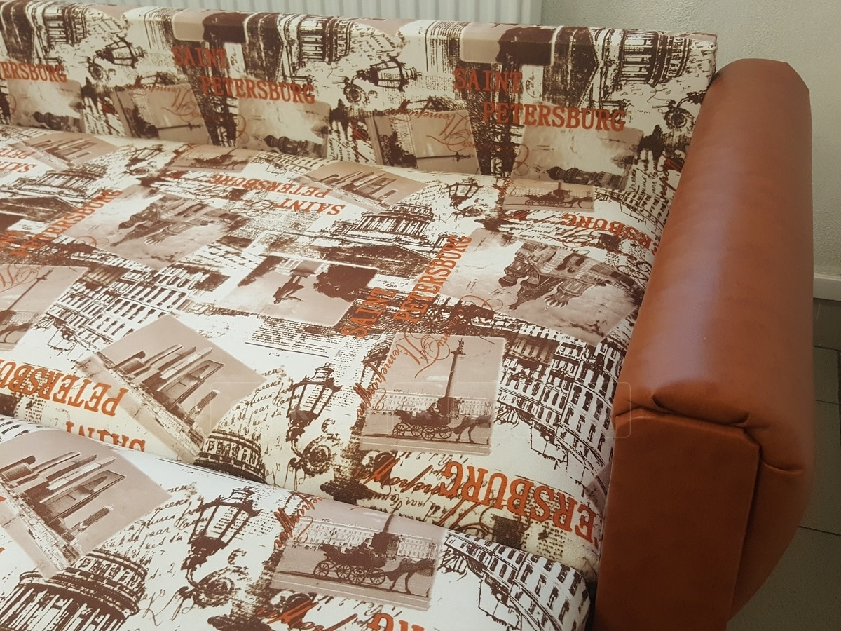 Диван выкатной Питерский 140 флок фото 5 | интернет-магазин Складно