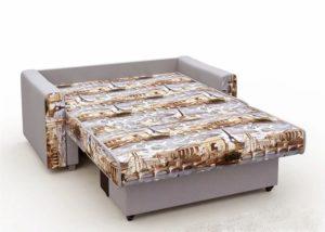 Диван выкатной Питерский 120 велюр серый 7490 рублей, фото 2 | интернет-магазин Складно
