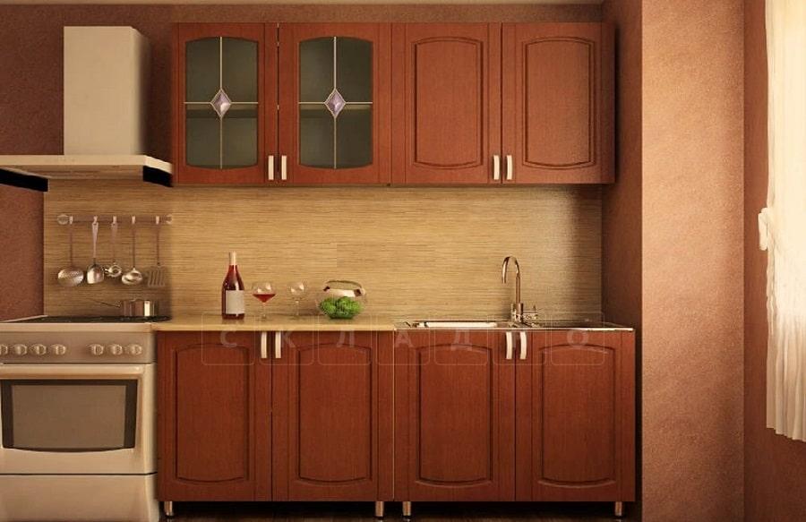 Кухонный гарнитур Кариба 1,6м итальянский орех фото 1 | интернет-магазин Складно