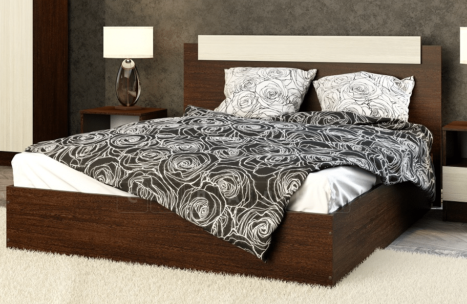 Кровать Эко 160см фото 2 | интернет-магазин Складно