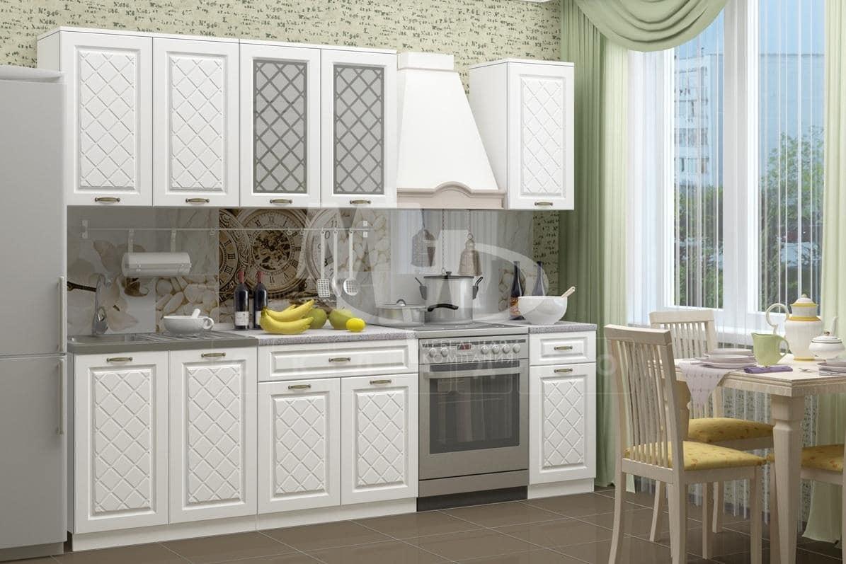Кухонный гарнитур Агава светлая 2,0 м фото 1 | интернет-магазин Складно