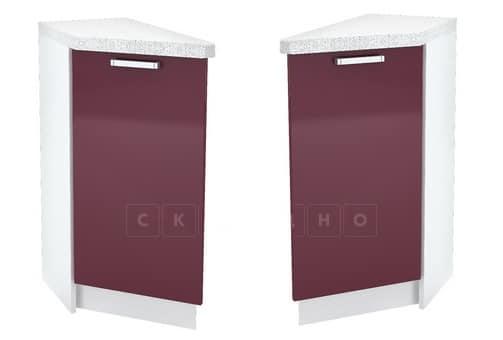 Кухонный шкаф напольный торцевой закрытый Кариба ШНУД30 фото 1 | интернет-магазин Складно