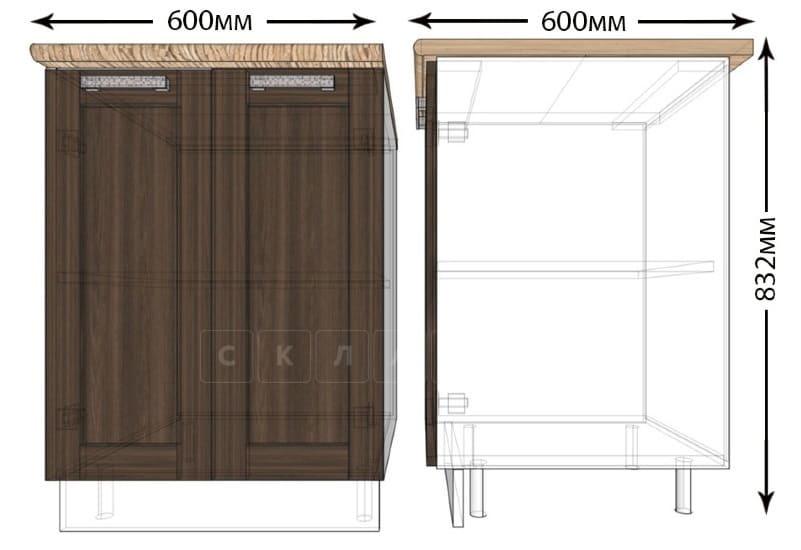 Кухонный шкаф напольный Лофт ШН60 фото 1   интернет-магазин Складно