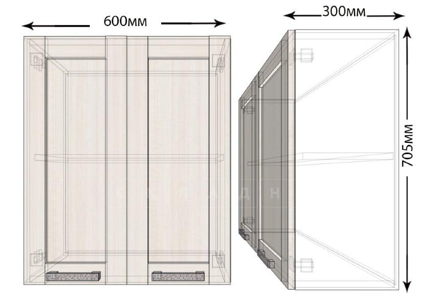 Кухонный навесной шкаф Лофт ШВ60 фото 1 | интернет-магазин Складно