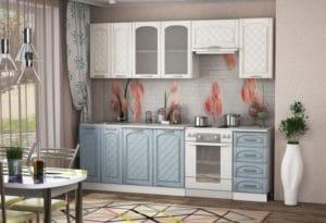 Кухонный гарнитур Милана 2,4 м с газовкой 23930 рублей, фото 2 | интернет-магазин Складно