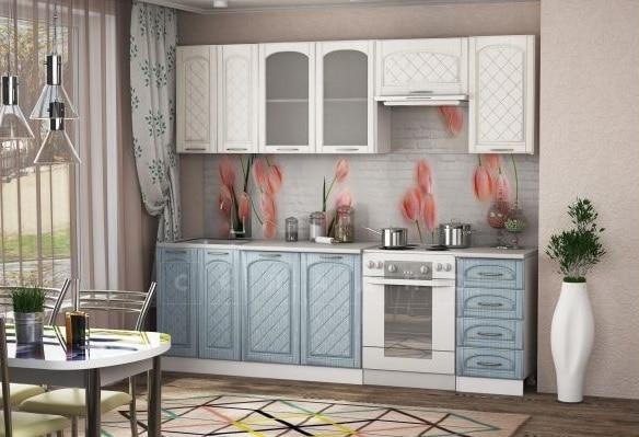 Кухонный гарнитур Милана 2,4 м с газовкой фото 2 | интернет-магазин Складно