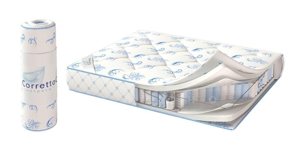 Матрас скрученный в рулон De luxe roll 80х200 фото 1 | интернет-магазин Складно