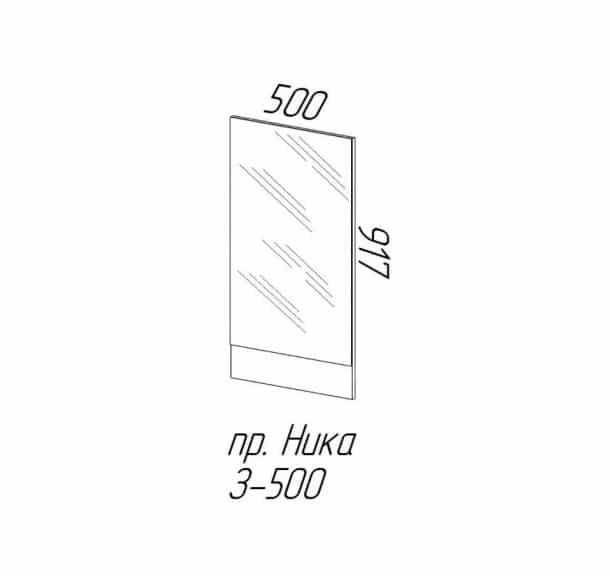 Прихожая угловая Ника-5 лдсп 1,70х1,06м фото 4 | интернет-магазин Складно