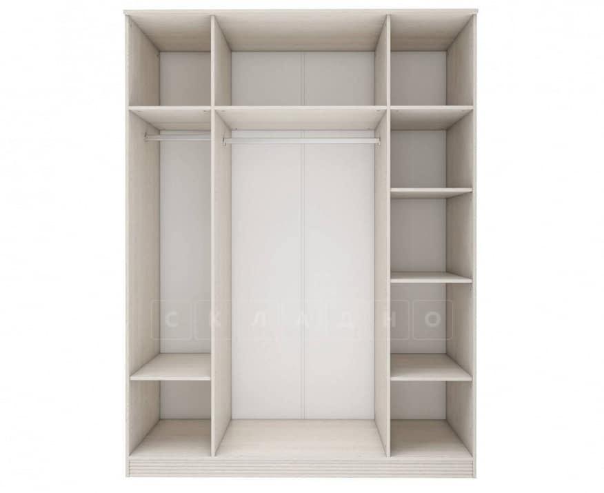 Шкаф четырехдверный с зеркалом Лозанна фото 2 | интернет-магазин Складно