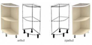 Кухонный шкаф напольный торцевой открытый Лофт ШНПУ30 фото | интернет-магазин Складно