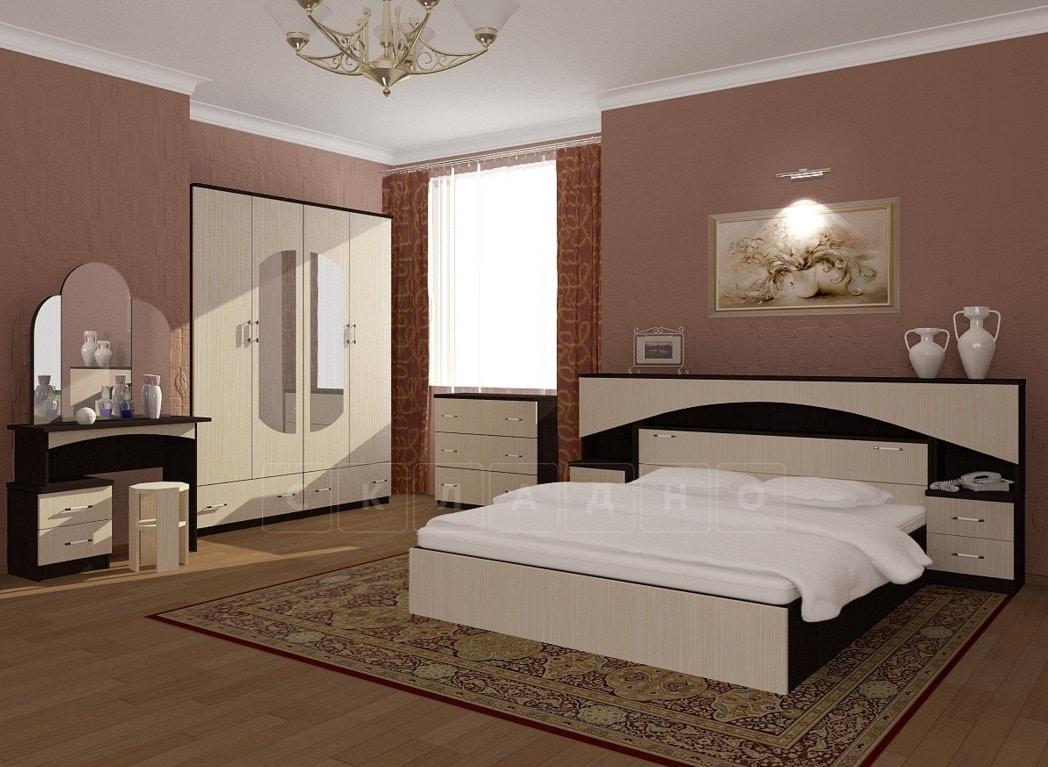 Спальный гарнитур Камелия ЛДСП фото 1 | интернет-магазин Складно