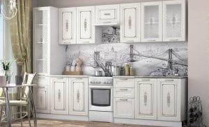 Кухонный гарнитур Гинза сандал 3,0м 24070 рублей, фото 1 | интернет-магазин Складно
