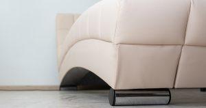 Мягкая кровать Оливия 160 см экокожа бежевый 19990 рублей, фото 8 | интернет-магазин Складно