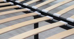 Мягкая кровать Мелисса 160 см велюр светло-бежевый 16790 рублей, фото 4 | интернет-магазин Складно
