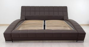 Мягкая кровать Оливия 160 см экокожа шоколад 19990 рублей, фото 11 | интернет-магазин Складно