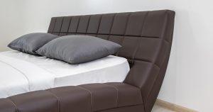Мягкая кровать Оливия 160 см экокожа шоколад 19990 рублей, фото 7 | интернет-магазин Складно