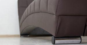Мягкая кровать Оливия 160 см экокожа шоколад 19990 рублей, фото 12 | интернет-магазин Складно