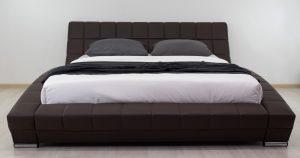 Мягкая кровать Оливия 160 см экокожа шоколад 19990 рублей, фото 3 | интернет-магазин Складно