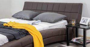 Мягкая кровать Оливия 160 см экокожа шоколад 19990 рублей, фото 9 | интернет-магазин Складно