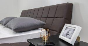 Мягкая кровать Оливия 160 см экокожа шоколад 19990 рублей, фото 6 | интернет-магазин Складно