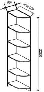 Шкаф-купе Комфорт ширина 180см, модель 1830 27300 рублей, фото 7 | интернет-магазин Складно