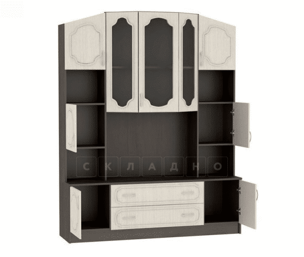 Стенка Макарена-3 МДФ угловая фото 2 | интернет-магазин Складно