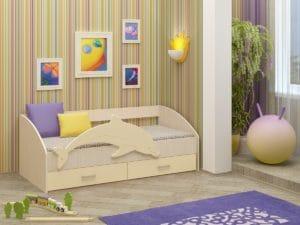 Детская кровать Дельфин-4 МДФ 8310 рублей, фото 6 | интернет-магазин Складно